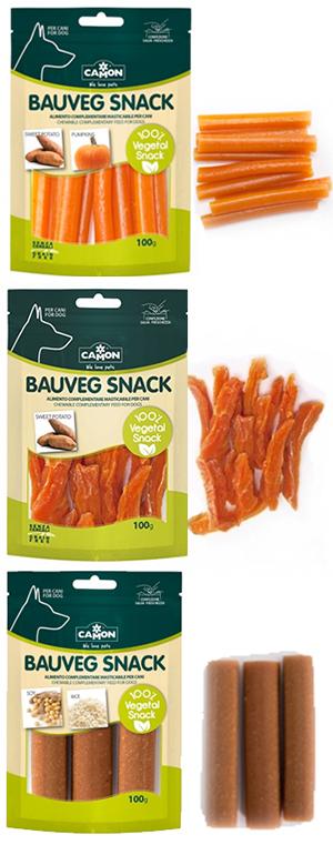Bauveg Snack Vegán Jutalomfalat Kutyáknak