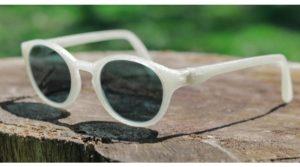 Forma V - Magyar gyártású, vegán, környezetbarát 3D nyomtatott napszemüveg, uniszex