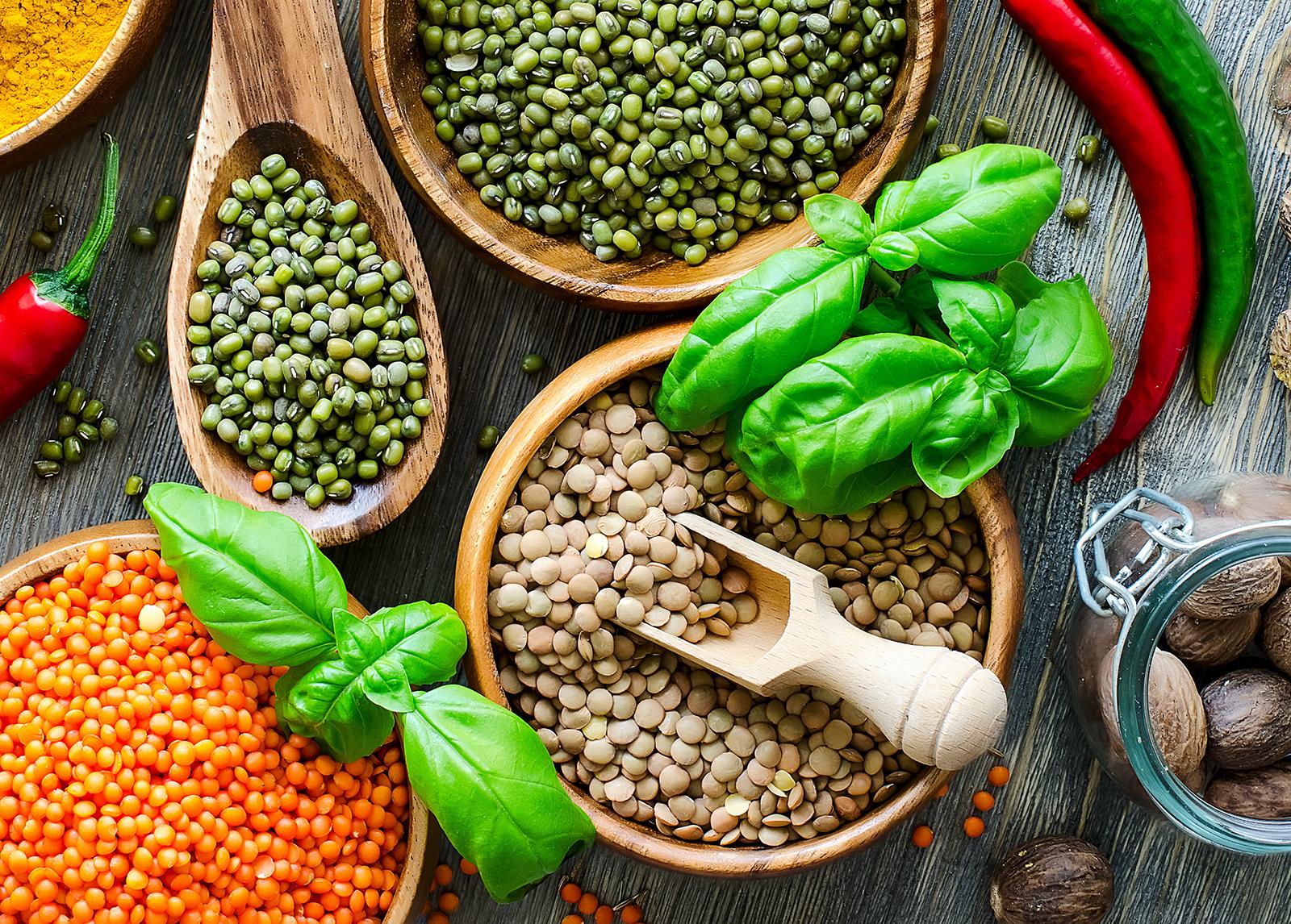 A hüvelyesekben többféle esszenciális aminosav megtalálható