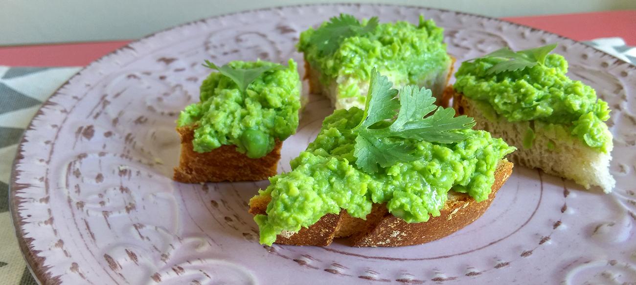 5 perc alatt elkészíthető zöldborsókrém