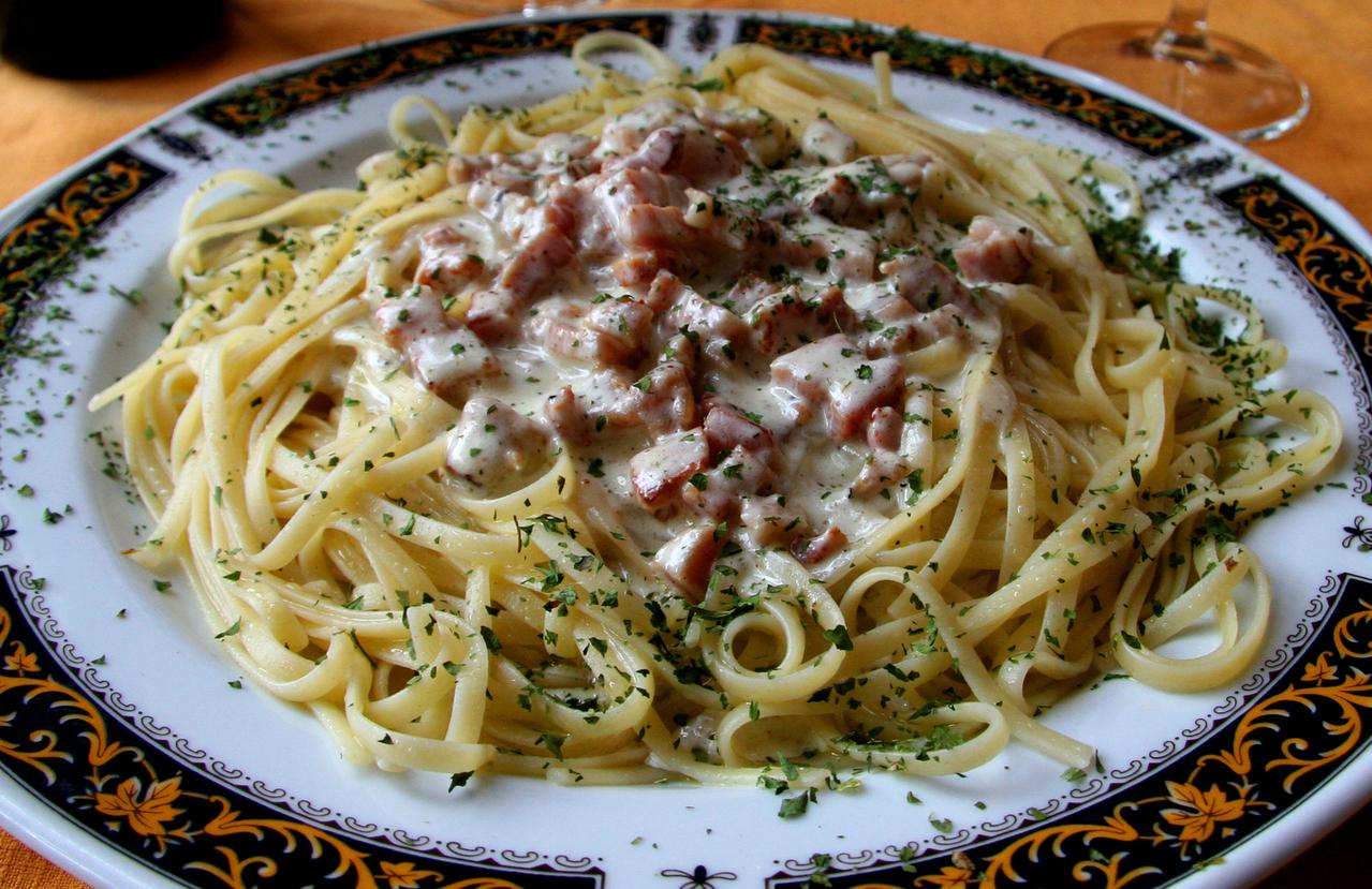 vegan carbonara spagetti